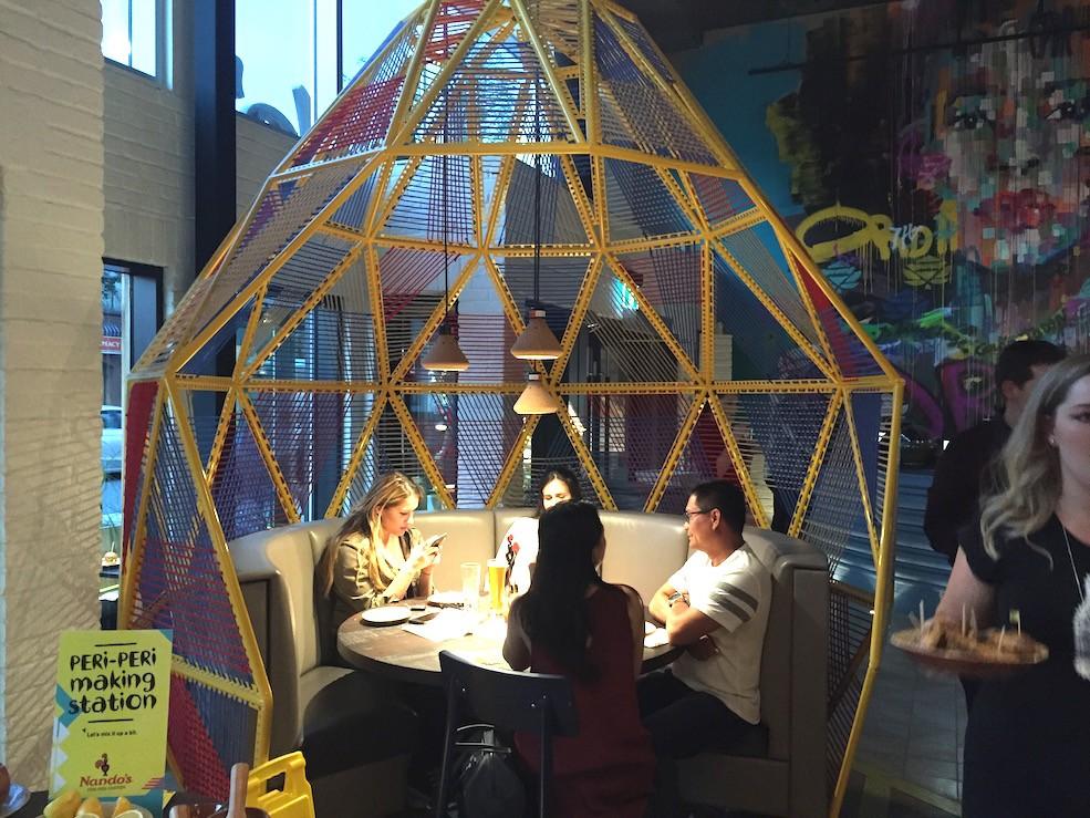 Image: Nando's on 17th Avenue / Daily Hive Calgary