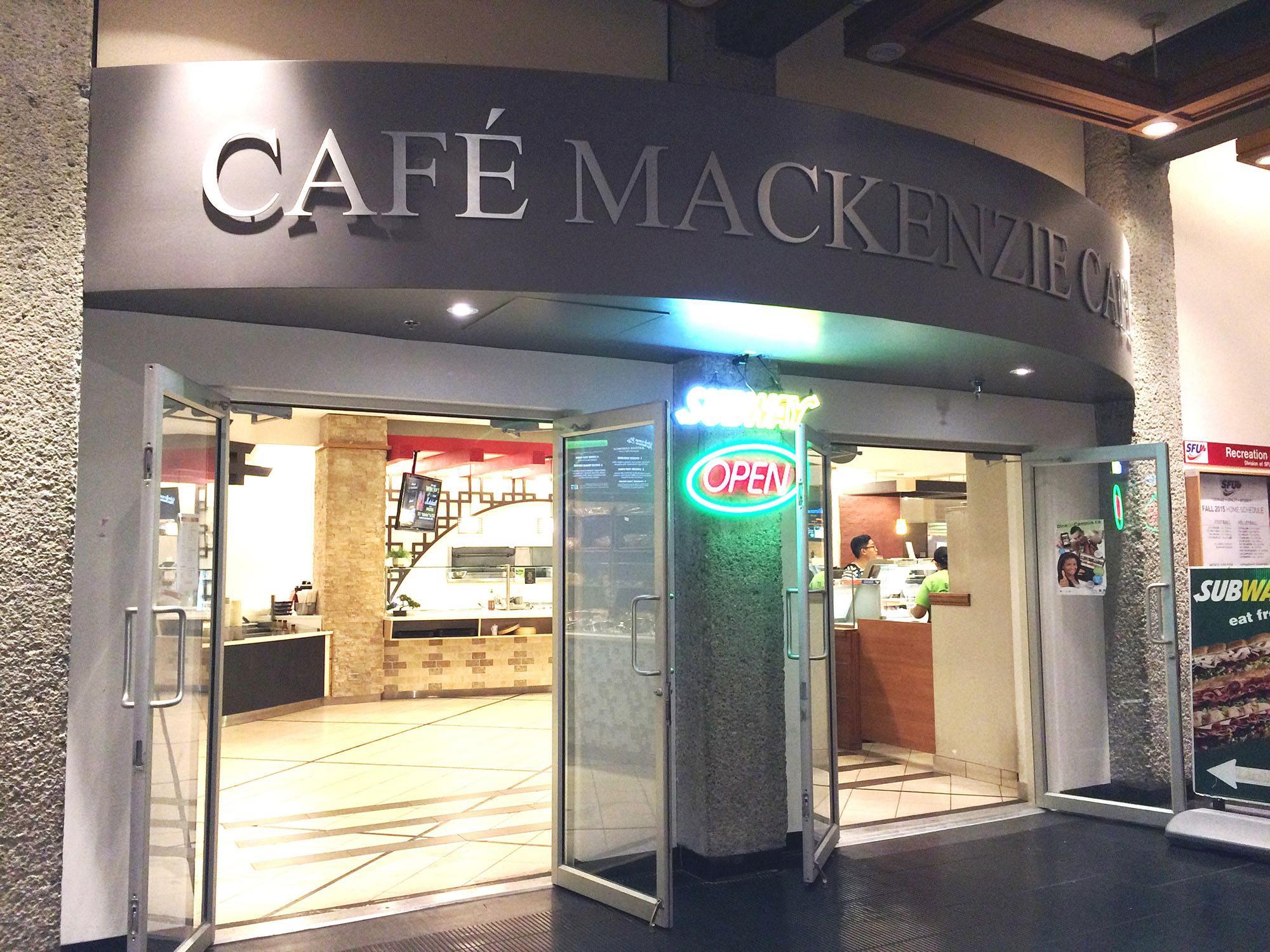 Mackenzie Cafe at SFU (SFU)
