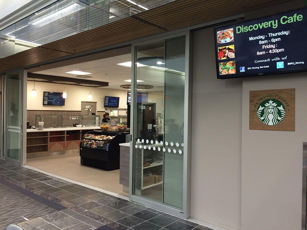 Discovery Cafe at SFU (SFU)