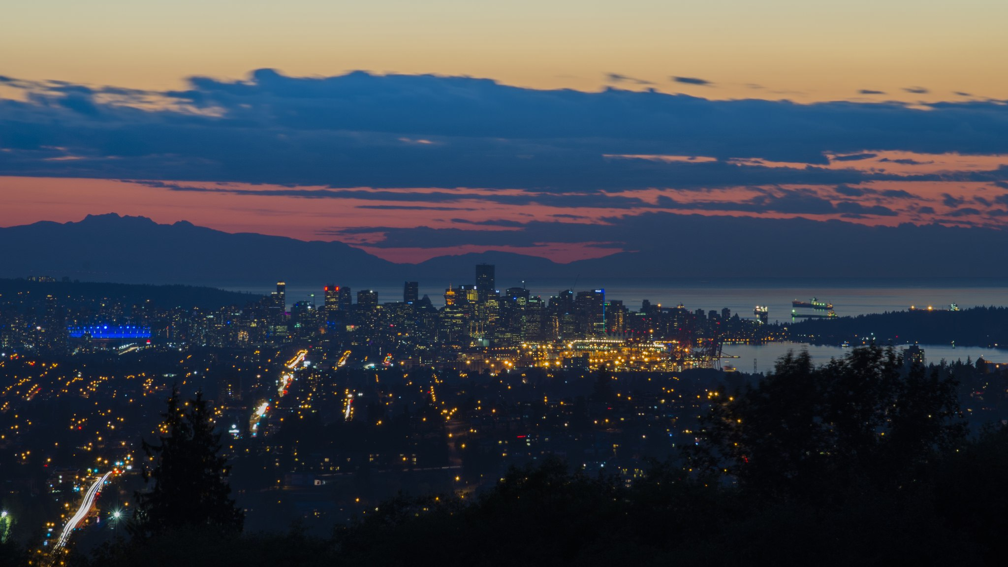 View of Vancouver from SFU (Jerry Meaden/Flickr)