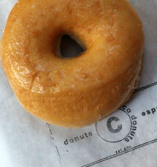 Old fashioned glaze donut cocos donuts portland