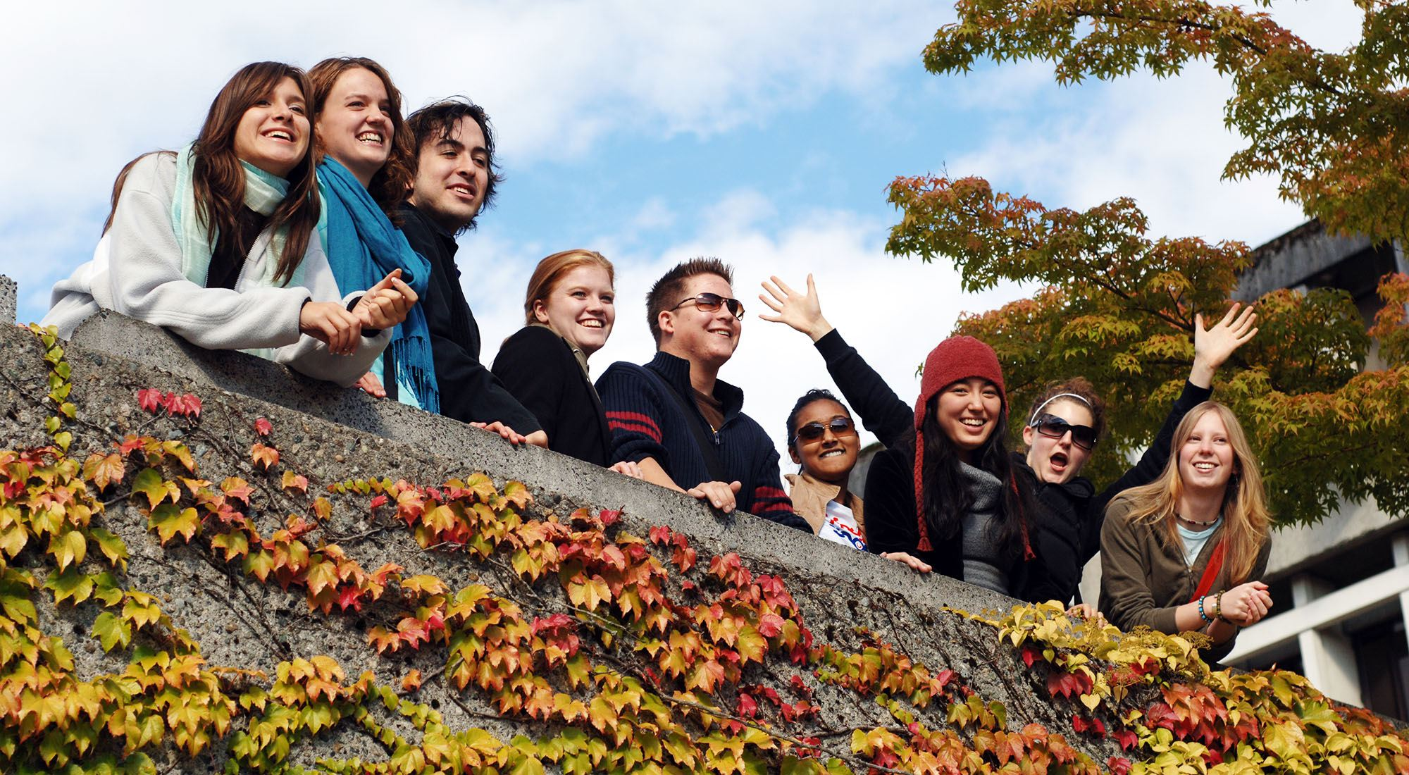 Where to enjoy outdoor activities at SFU
