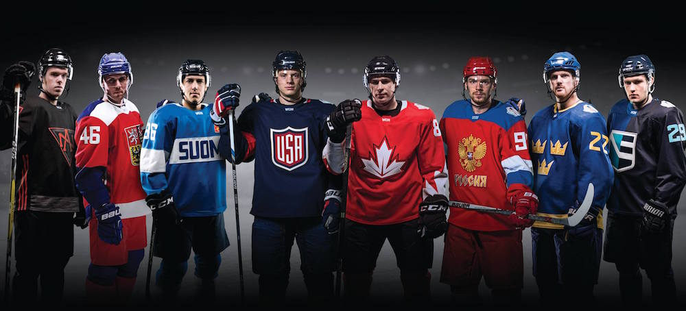 World Cup of Hockey 2018 Adidas Jerseys