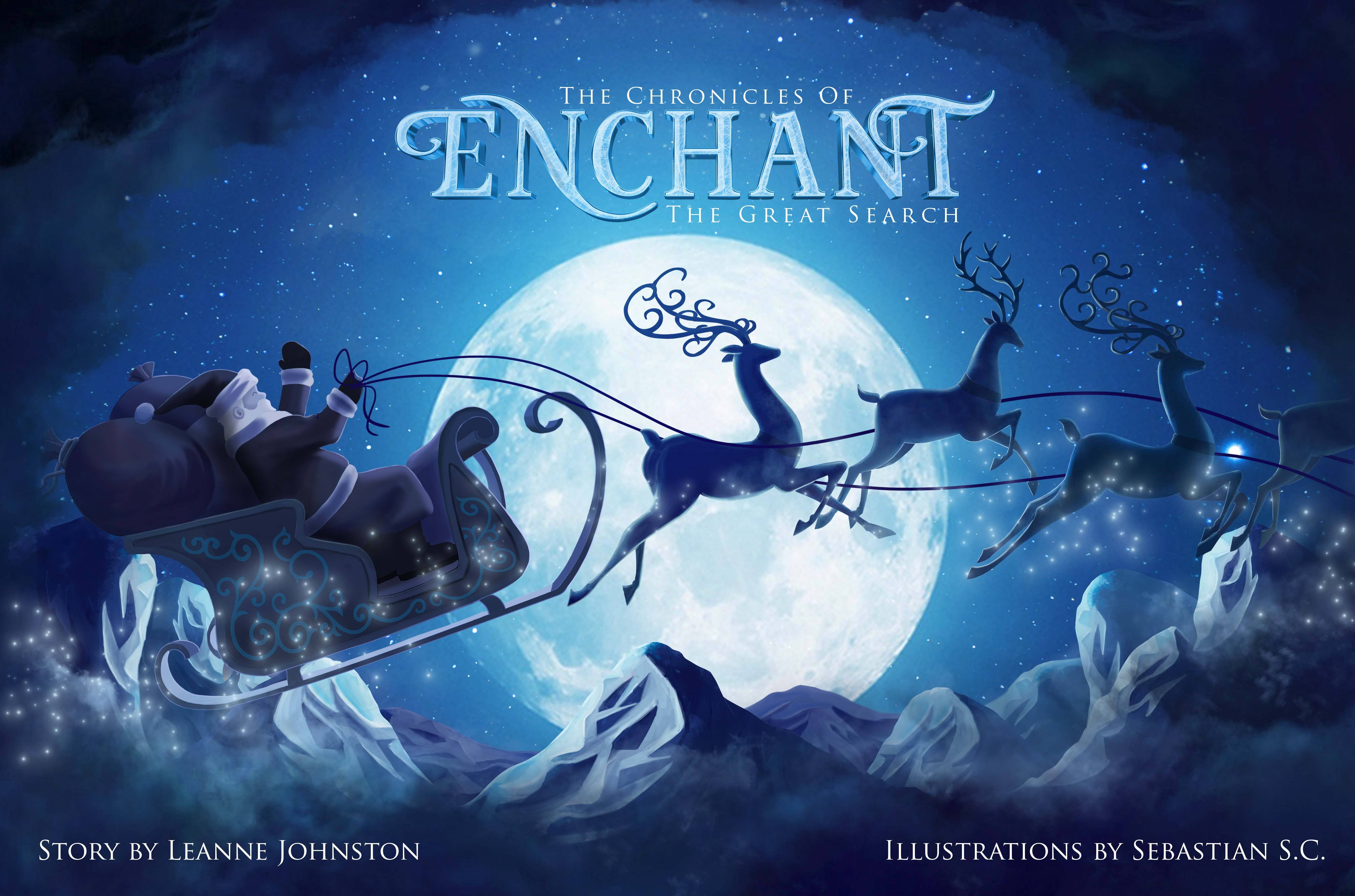 The Enchant storybook will be available for purchase (Enchant)