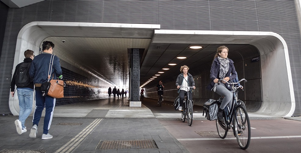 Amsterdam's urban cycling utopia: A product of demand rather than design (PHOTOS, VIDEO)