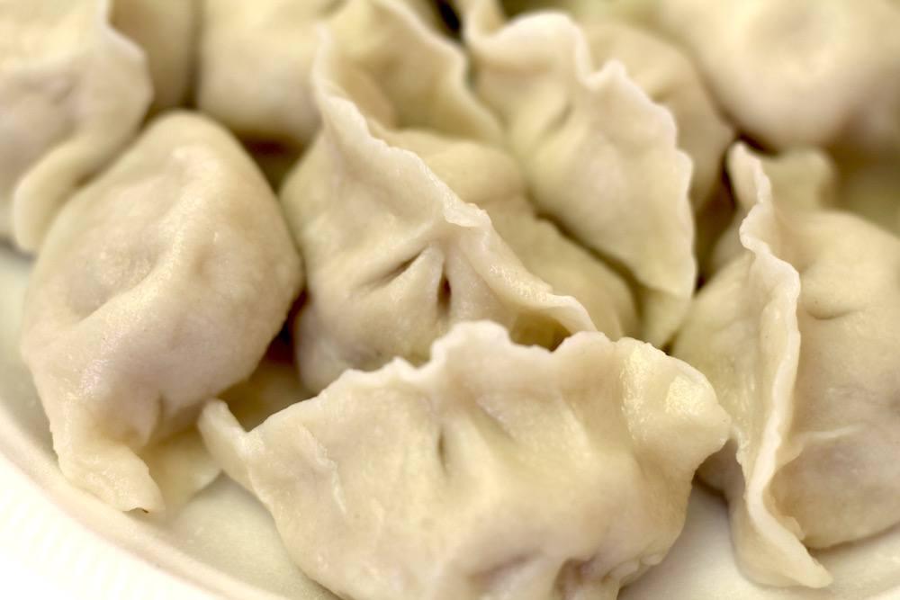 Boiled dumplings at R&H in Lansdowne (Lindsay William-Ross/Daily Hive)