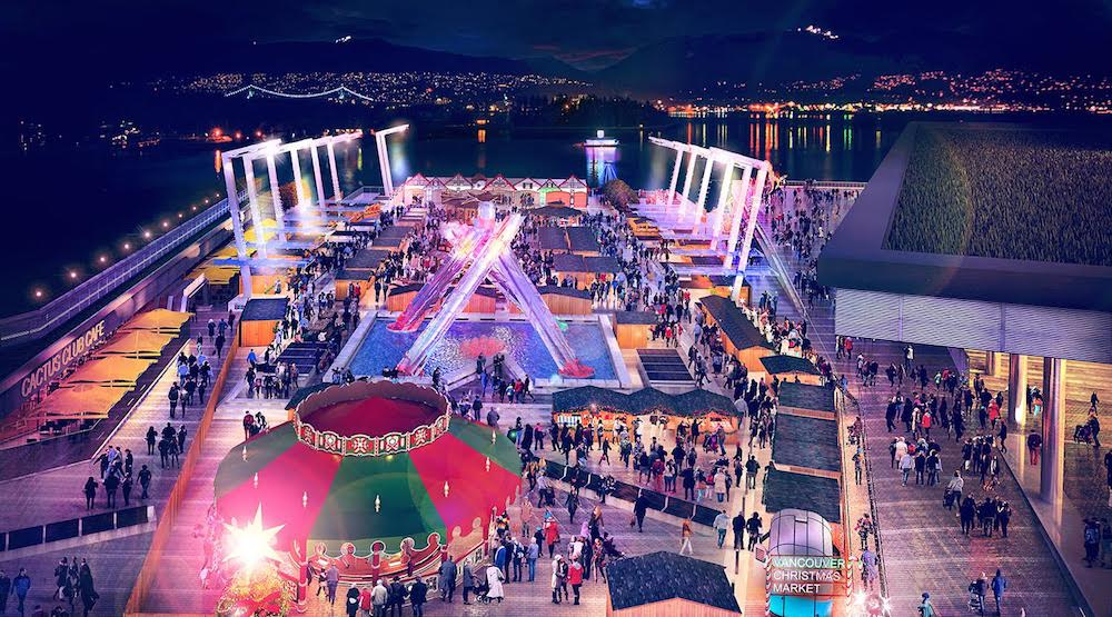 Vancouver Christmas Market relocates to Jack Poole Plaza for 2016