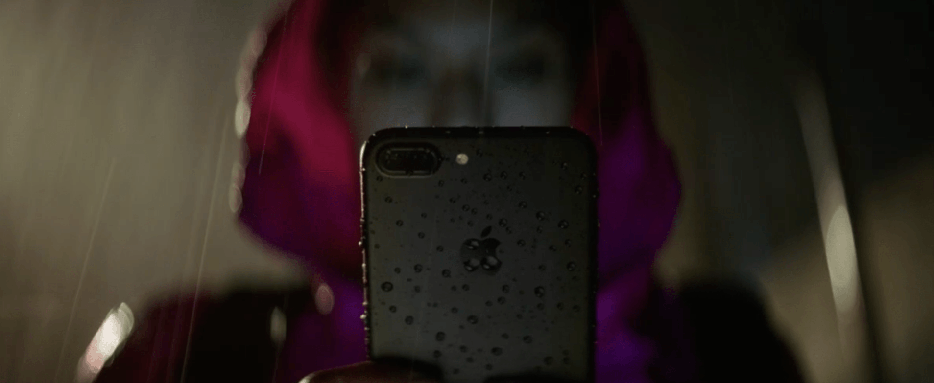 The iPhone 7 is water resistant (Apple)