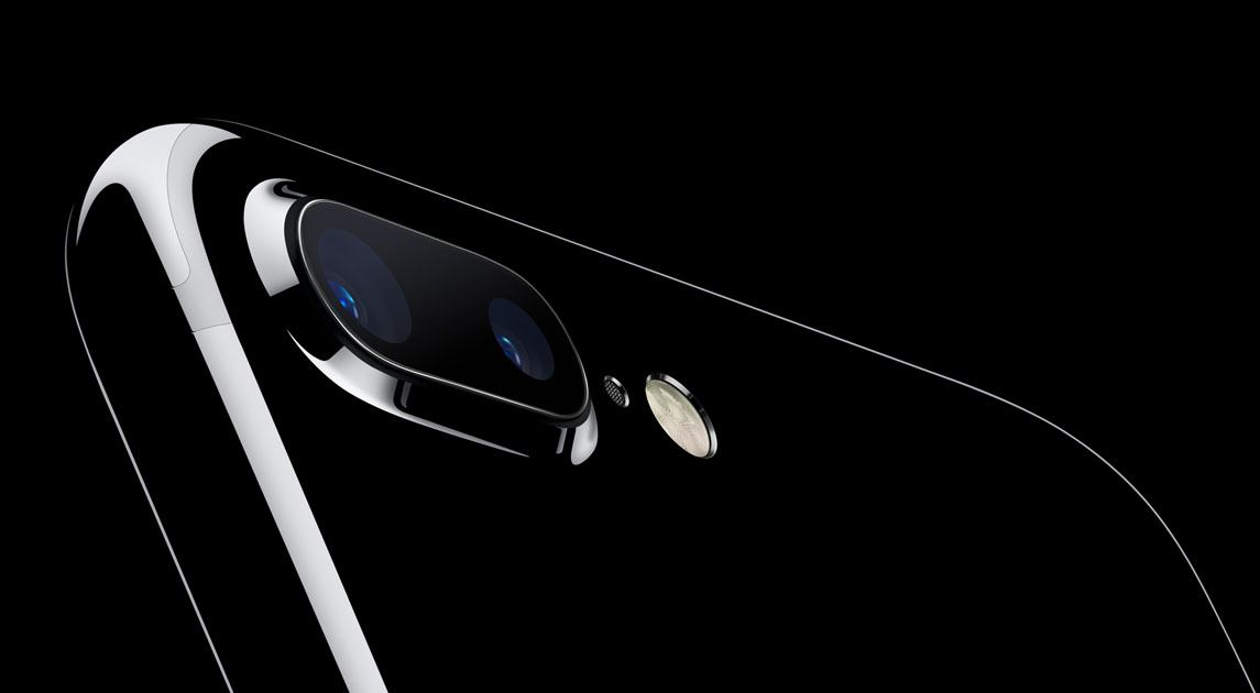 The dual lens iPhone 7 plus (Apple)