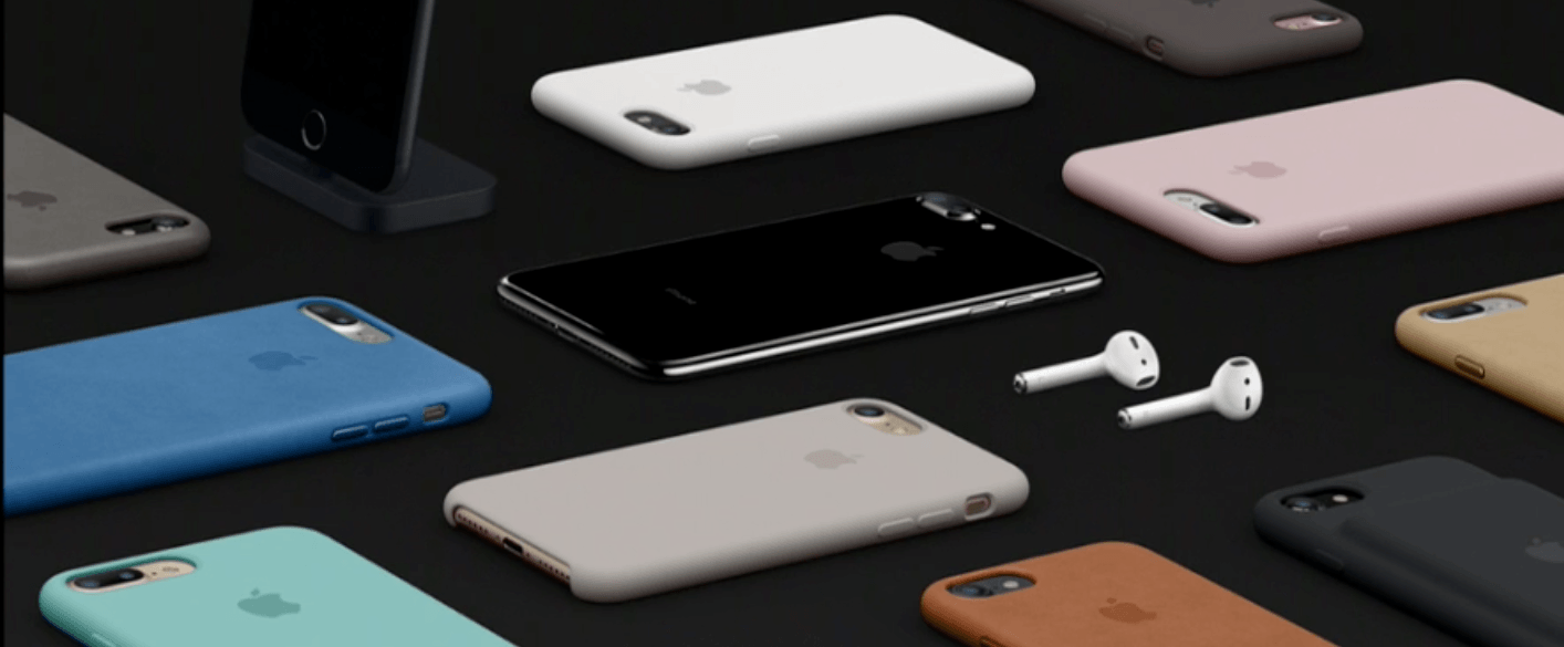 The new Apple iPhone 7 in a range of colours (Apple)