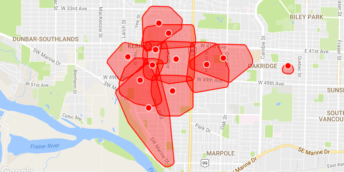 Massive power outage in Vancouver Westside (UPDATED)