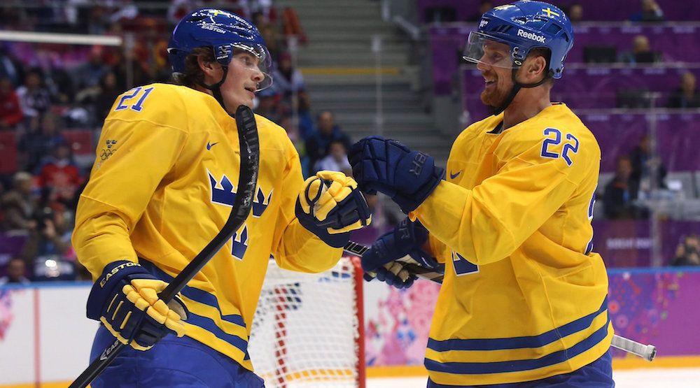Sedins, Eriksson get head start on chemistry with Team Sweden