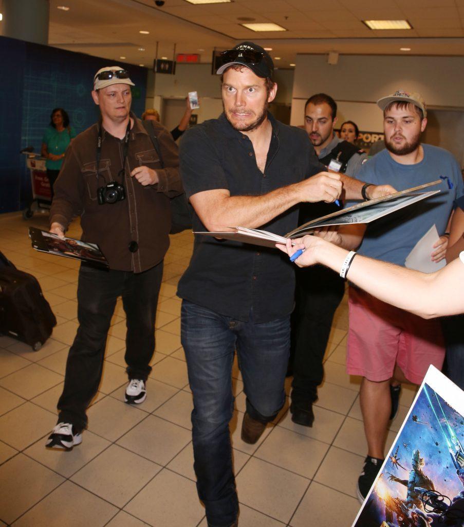 Chris Pratt Toronto TIFF
