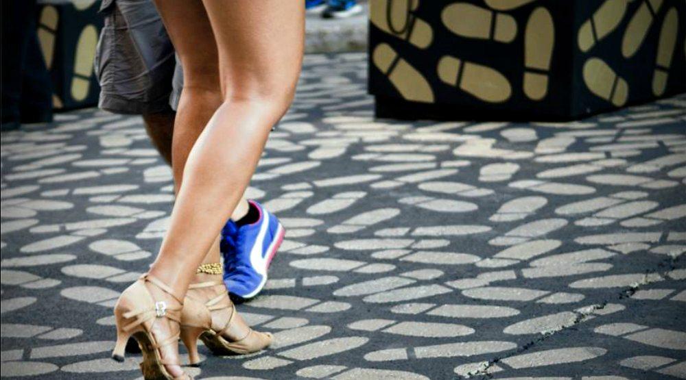 Jardins Gamelin is hosting free salsa parties on Saturdays