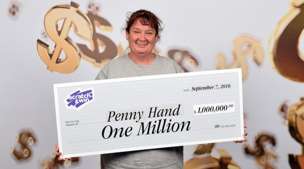 BC woman wins $1 million on scratch and win ticket