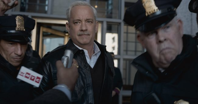 Tom Hanks as Sully - Image: Warner Brothers