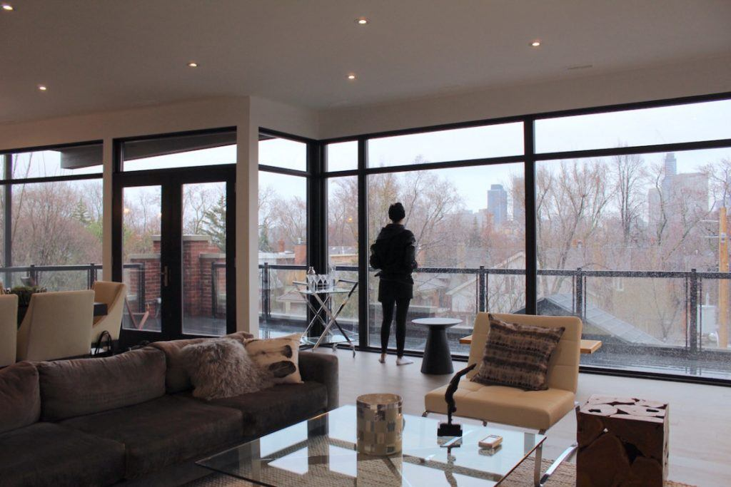 Toronto penthouse Rosedale