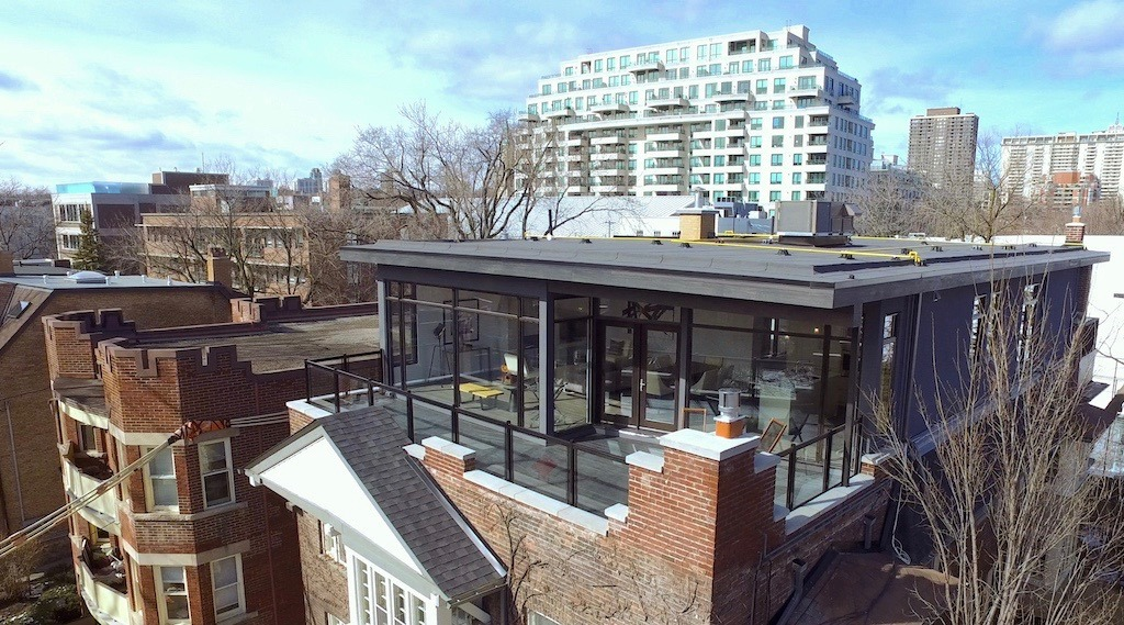 Inside a $2M modern glass penthouse in Rosedale (PHOTOS)