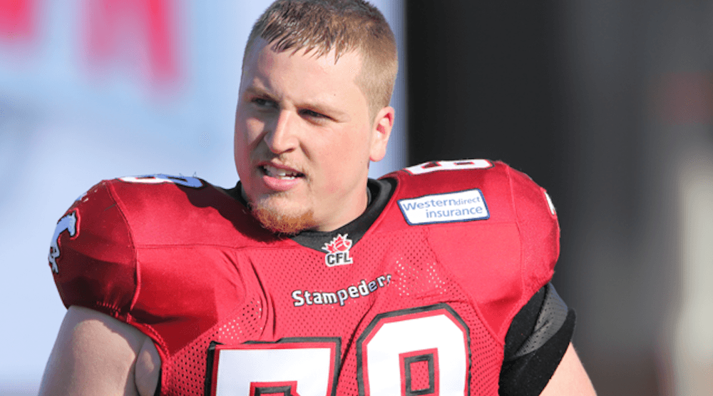 Stampeders' Quinn Smith suspended 3 games for failed drug test