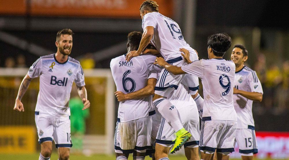 Three Kicks: Whitecaps end streak with 3-1 win over Columbus (HIGHLIGHTS)