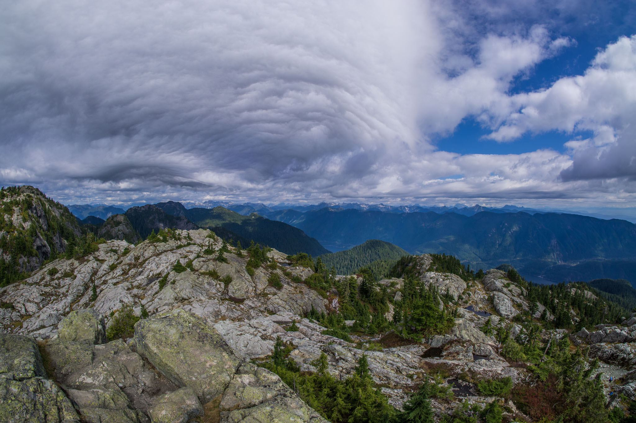 Crazy clouds from the top of Mount Seymour (Josh Stuart/Flickr)