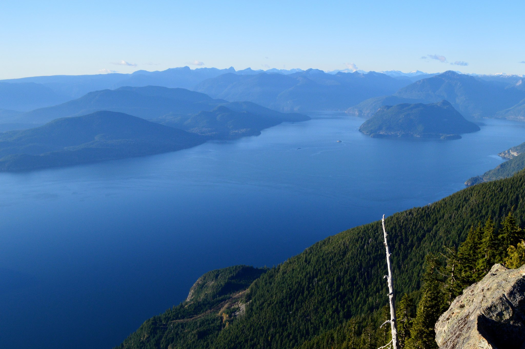 The view from St Mark's Summit on the Howe Sound Crest Trail in North Vancouver (Harold Cecchetti/Flickr)