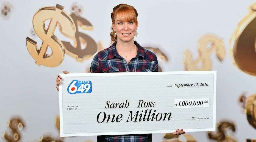 BC woman wins $1 million on Lotto 6/49 after her house burns down