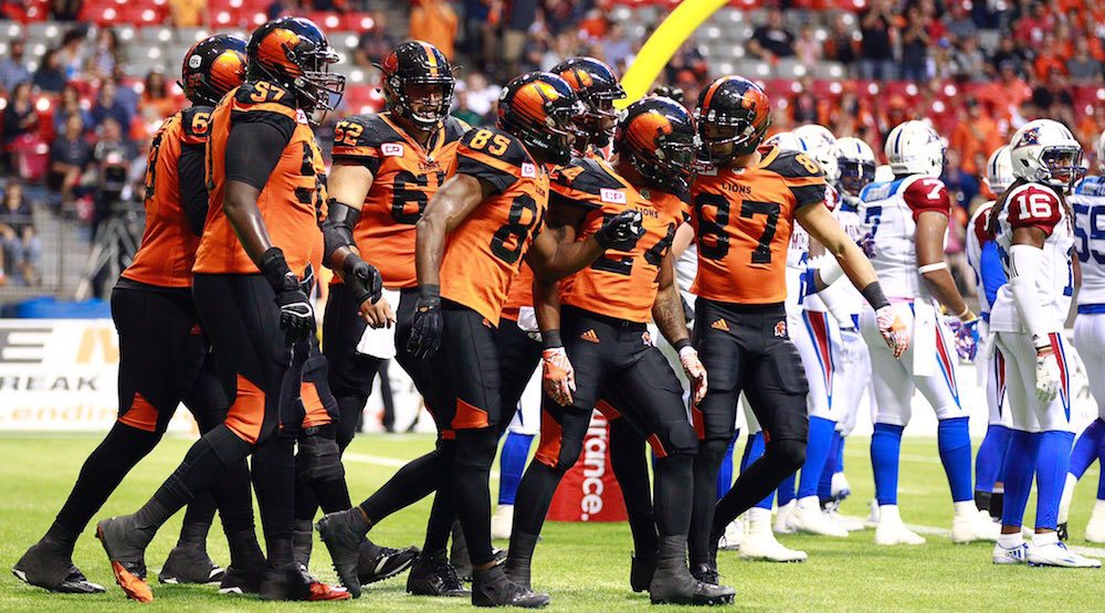 Bc lions montreal alouettes
