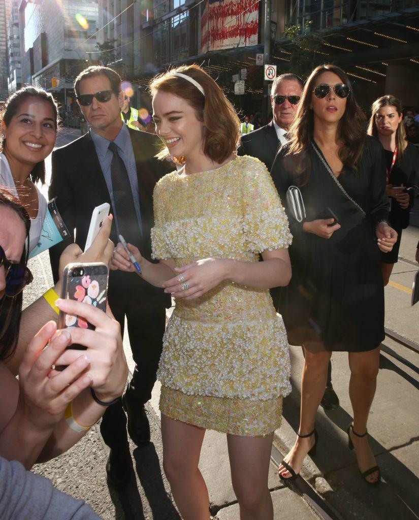 Emma Stone Ryan Gosling Toronto