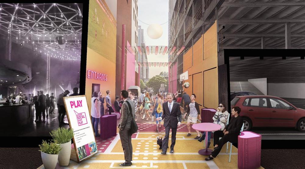 Downtown Vancouver laneway revitalized as pedestrian-friendly area