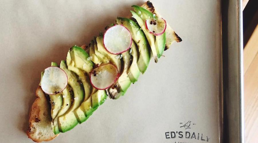 Eds daily vancouver avocado toast
