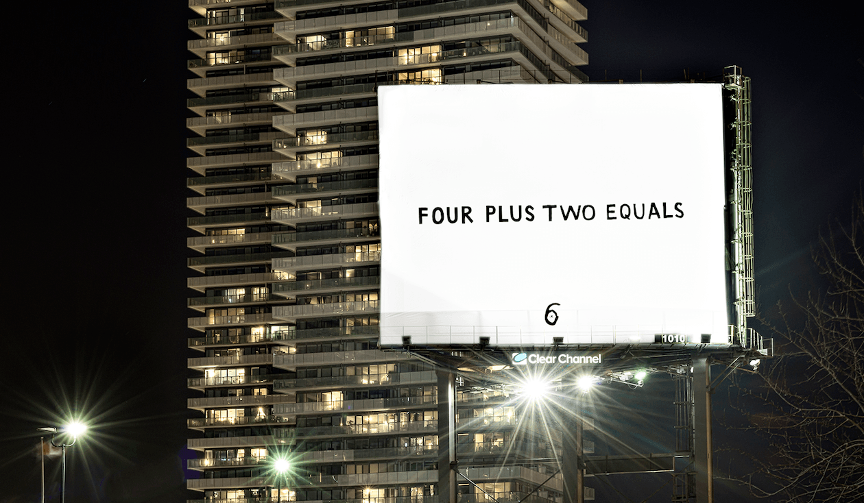 Four Plus Two Equals (Vincenzo Pistritto/Clear Channel)