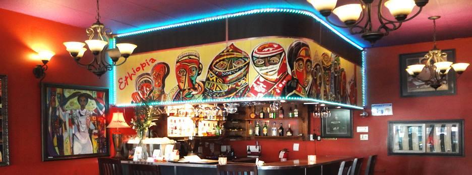 Inside the Harambe Ethiopian Restaurant in Vancouver (Harambe Ethiopian Restaurant/Facebook)