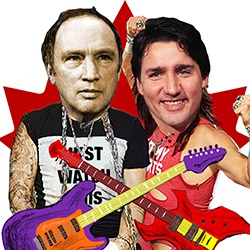 Just Watch Me - A Trudeau Rock Musical is playing at Fringe this Wednesday (Vancouver International Fringe Festival)