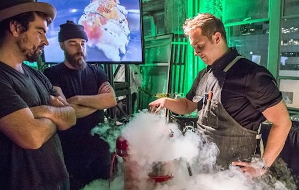 Torched: Fire meets ice, food meets genius at Beakerhead's ultimate dinning experience