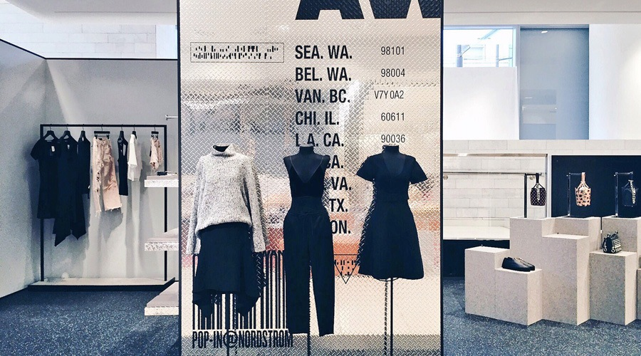 Alexander Wang brings his brand of downtown cool to the Pop-In@Nordstrom