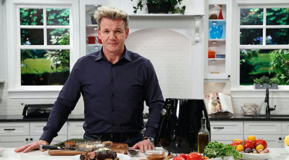 Try Chef Gordon Ramsay's recipe for vegetable salad with chimichurri vinaigrette