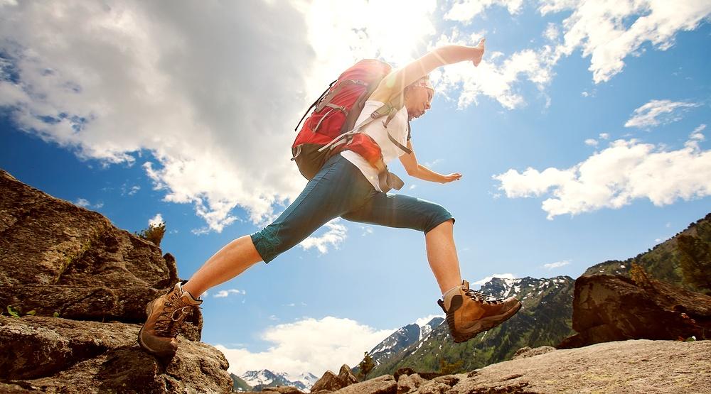 Woman hiking my good imagesshutterstock