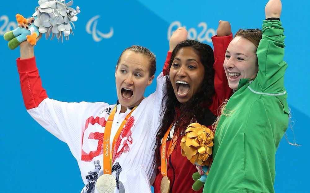 Katarina Roxon wins gold for Canada at Rio 2016 Paralympics