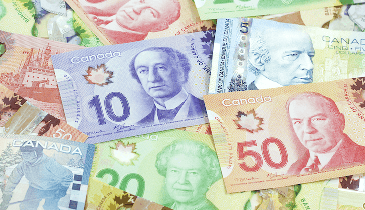 3 envelopes stuffed with cash have been found in Coquitlam