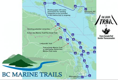 The Salish Marine Trail/ BCMarineTrails
