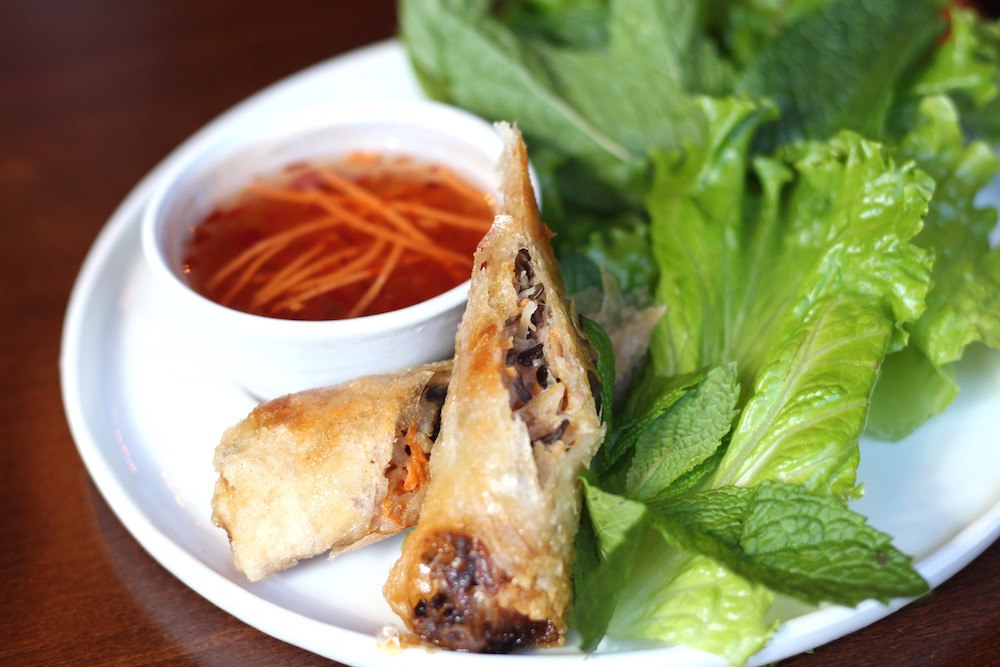 Spring rolls (Lindsay William-Ross/Daily Hive)