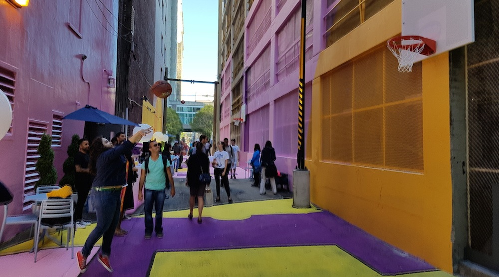 Downtown Vancouver laneway transformed into vibrant public space (PHOTOS)
