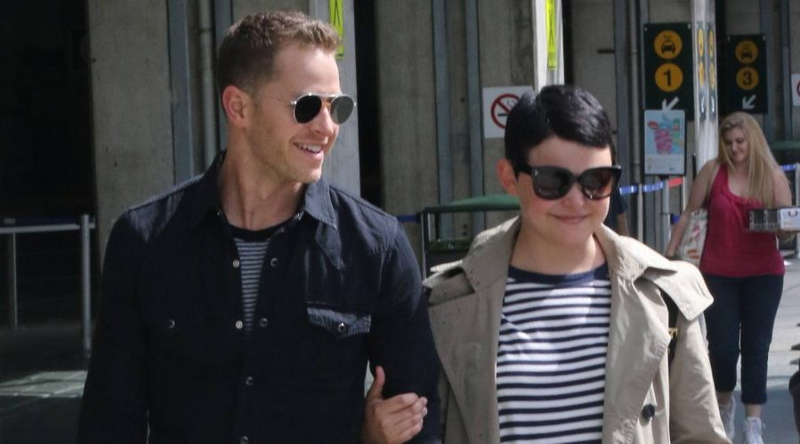 Once Upon A Time's Josh Dallas and Ginnifer Goodwin fly into Vancouver