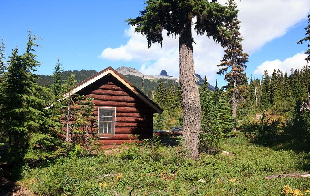 Hut in Taylor Meadows near Garibaldi Lake (Daily Hive/Conrad Olson)