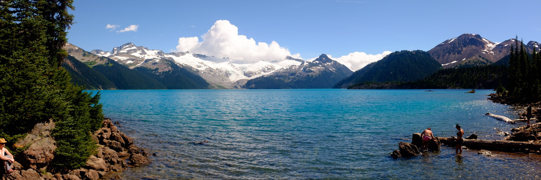 Beautiful Garibaldi Lake (Daily Hive/Conrad Olson)