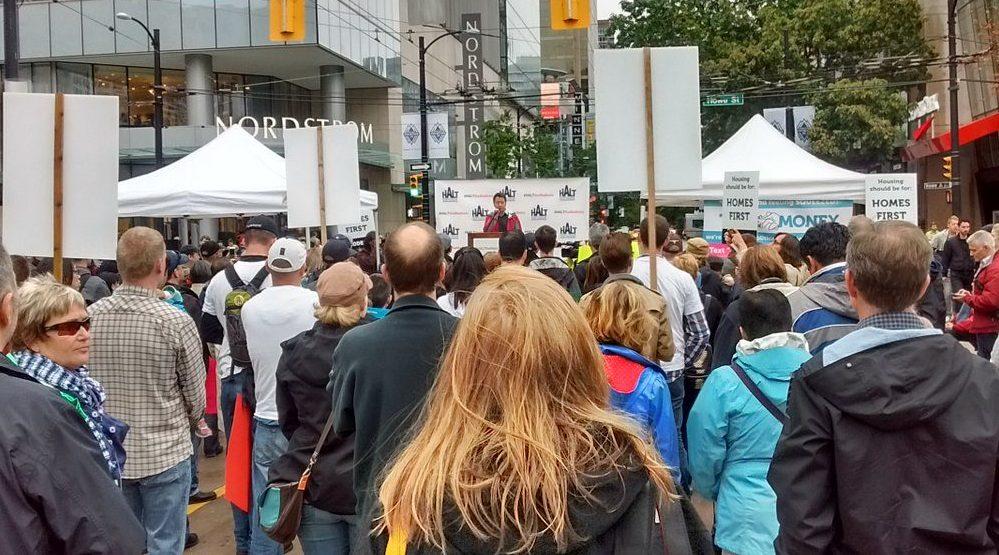 Hundreds protest Vancouver's housing crisis (PHOTOS)