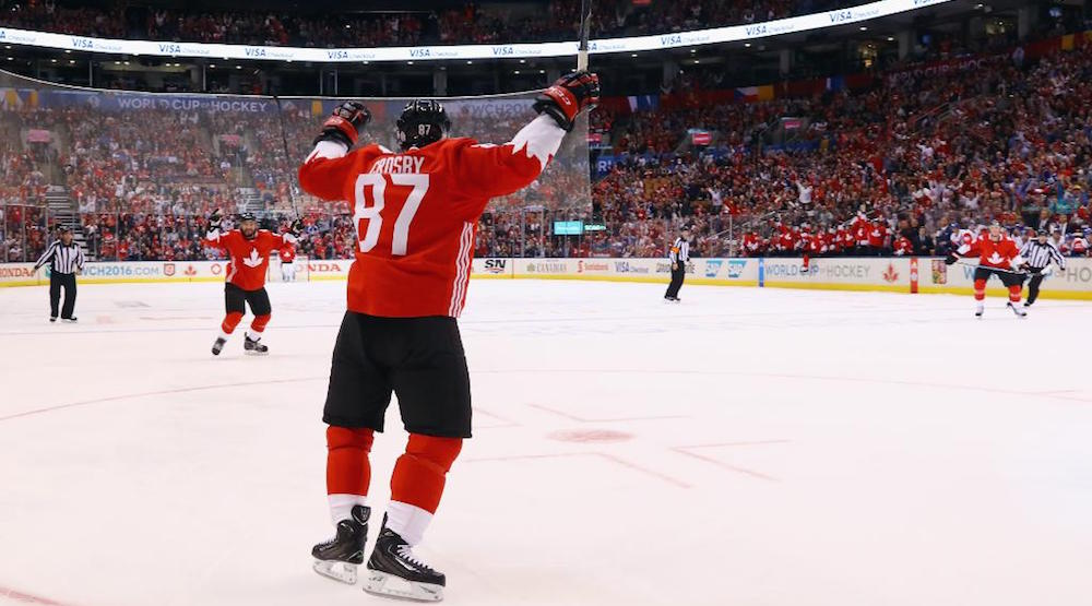 Crosby stars for Canada in 6-0 dismantling of Czechs (HIGHLIGHTS)