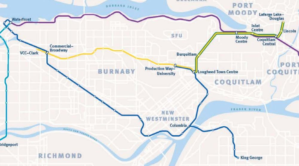 New SkyTrain routes: Millennium Line will no longer run to Waterfront beginning October 22