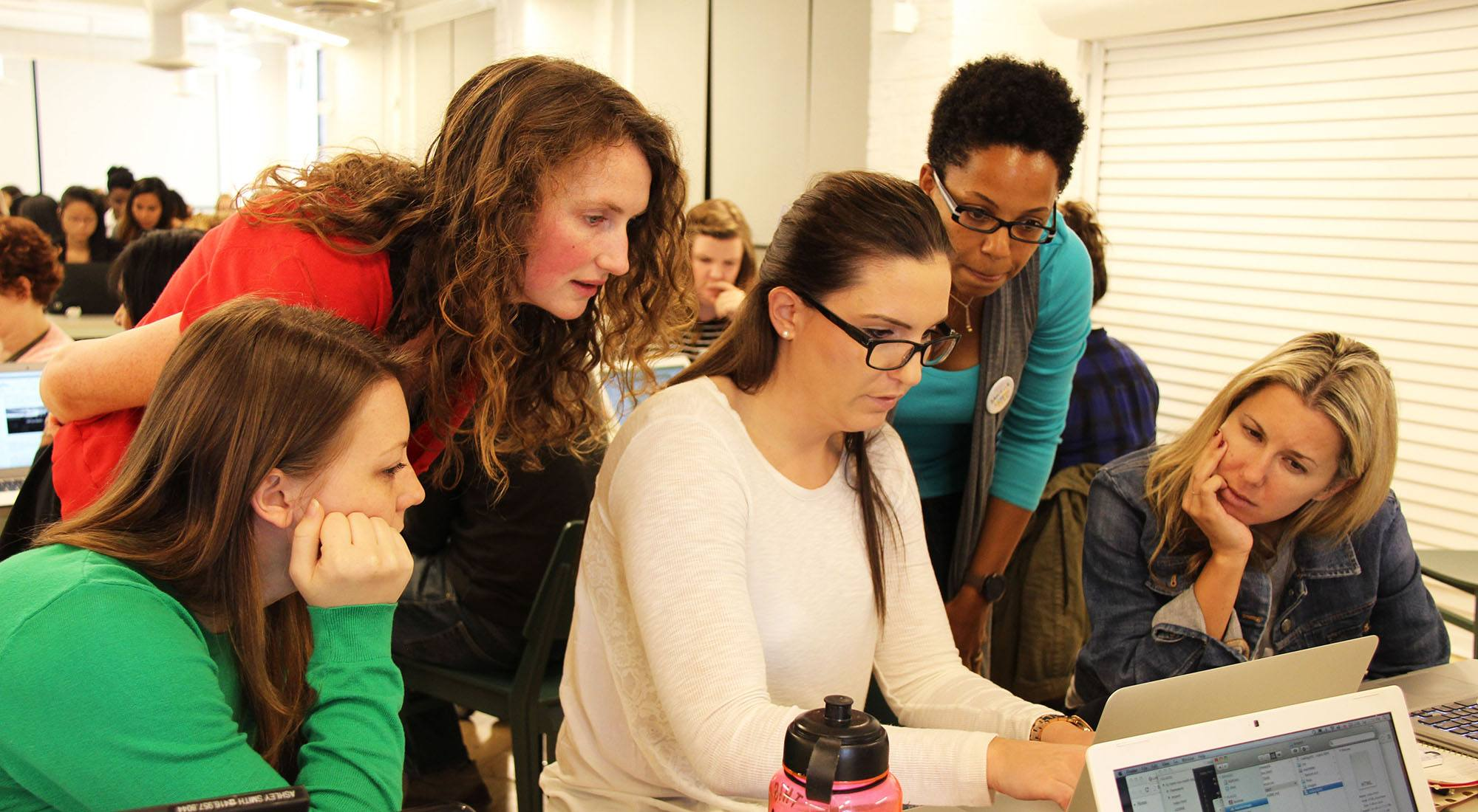 Ladies coding classes for National Learn to Code Day this weekend